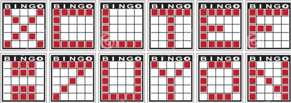 Bingo Patronen (letters)