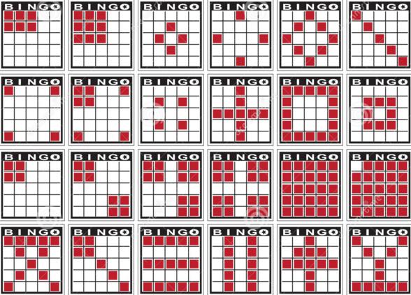 Bingo Patronen Symbolen