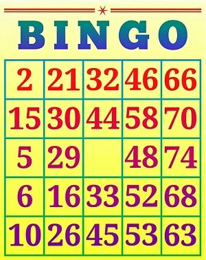 Bingo Cijfers
