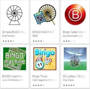 Bingo Machine App