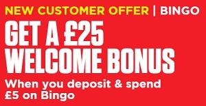 Ladbrokes Bingo Bonus